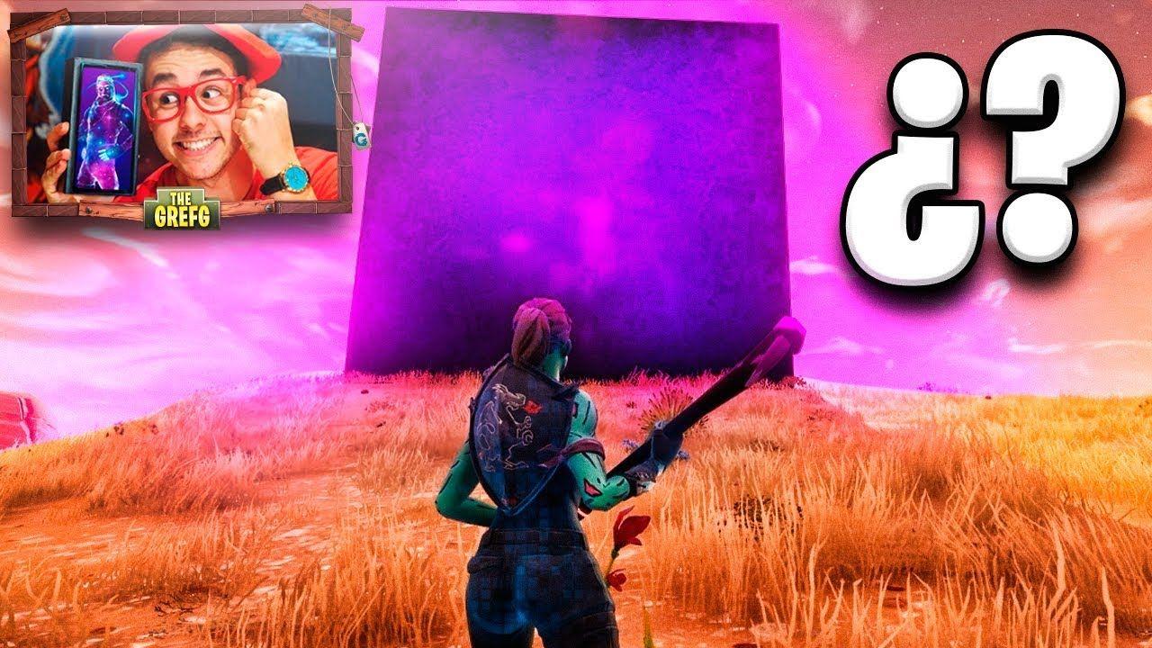 Temporada 6 El Misterio Del Cubo Gigante De Fortnite Thegrefg Temporadas Fortnite Secundaria
