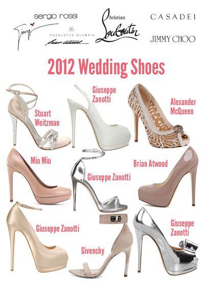 Best Designer Wedding Shoes 2013 Shoerazzi S Top Bridal Heels Sapatos Moda Miu