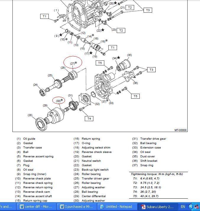 Diagram Of Nissan 1400 Gearbox  2