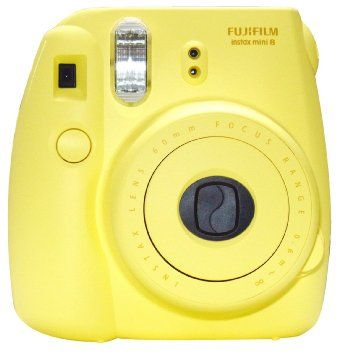Amazon.com: New Model Fuji Instax 8 Color Yellow Fujifilm Instax Mini 8 Instant Camera: Camera & Photo