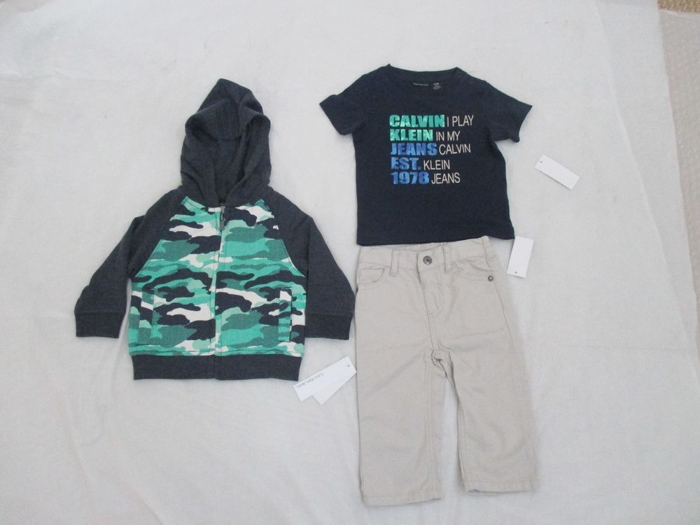 Calvin Klein Set Boys 3 Piece Set Style 3693050-99 Assorted Brand New with Tags  #CalvinKleinJeans #CasualFormalParty