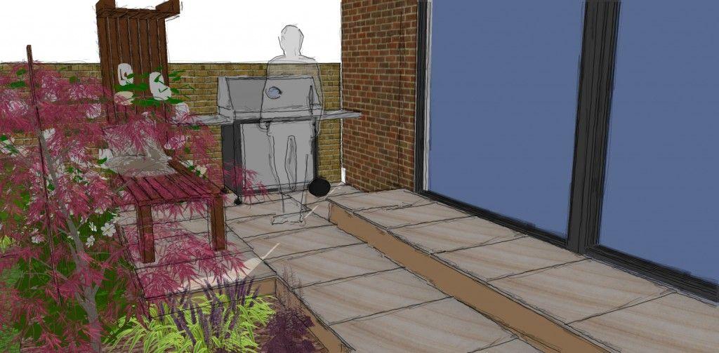 Help! , we need a West London garden design West london, Gas bbq