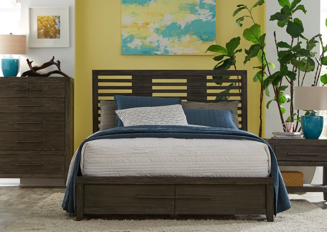 Click to enlarge upholstered panel bed bed slats queen