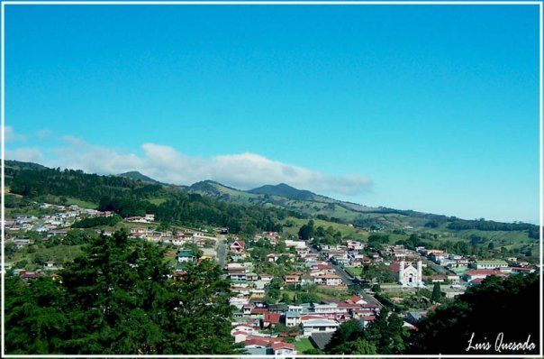 Zarcero, Costa Rica. Hermoso mi pueblo! Foto de Luis Quesada
