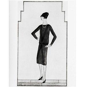 d00d5f0f4447c La petite robe noire de Chanel 1926 contexte d après guerre reconstruction  la femme s émancipe donc demande de vêtement pratique et confortable cette  robe ...