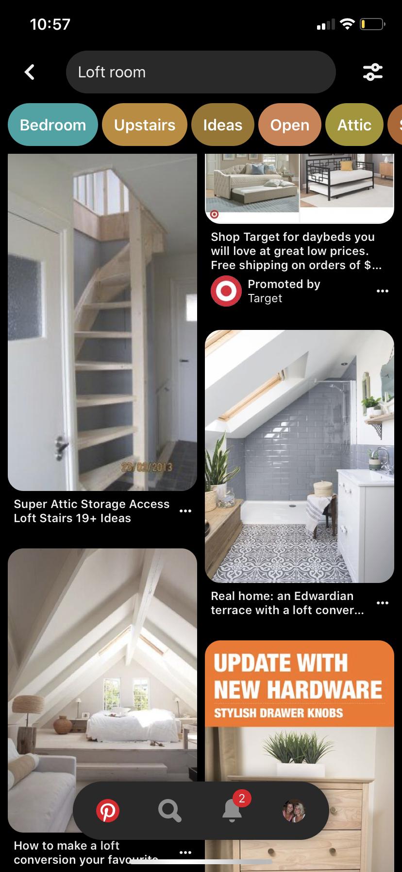 Pin by Caryn Kosteva on Homeee in 2020 Loft room, Stairs
