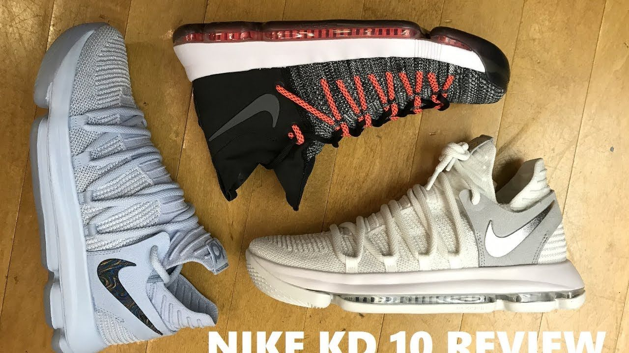 cheaper f58de a80e0 ... clearance nike kd 10 anniversary faint blue sneaker review comparison  with elite 9 kd sneakers sneakers