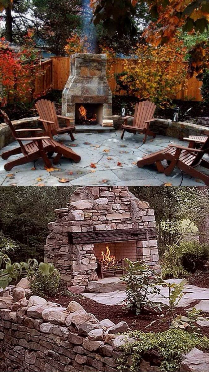 100 Amazing Outdoor Fireplace Designs @styleestate ... on Amazing Outdoor Fireplaces  id=42854