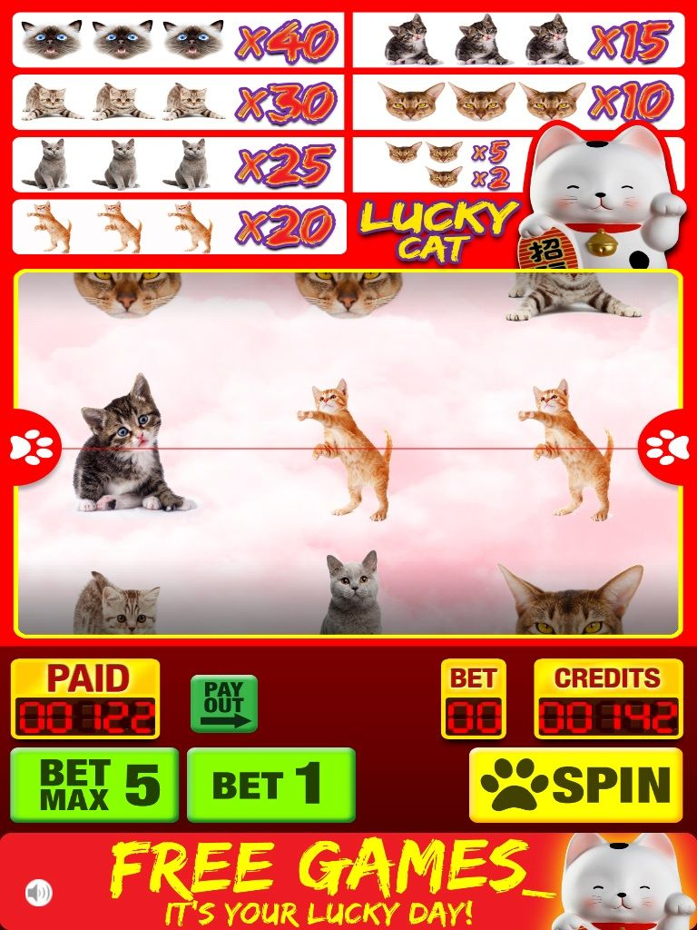Lucky Cat Slots App Review News Bubblews (With images