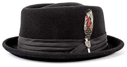 12f21ea1afc2a Brixton Men s Stout Pork Pie Hat