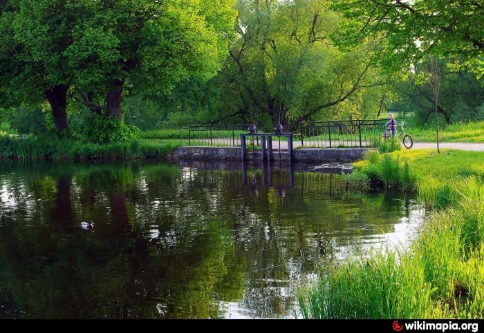 Le Parc Anglais - Peterhof