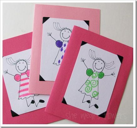 Tutorial Handmade Thank You Cards From Kids Vibha Pinterest