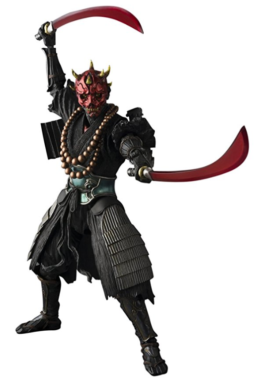 Tamashii Nations Ban17573 Meisho Movie Realization Sohei Darth Maul Action Figure Darth Maul Star Wars Action Figures Star Wars Film