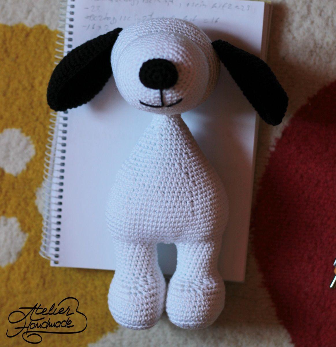 Snoopy The Dog - Free Crochet Pattern (con immagini) | Schema ... | 1200x1163