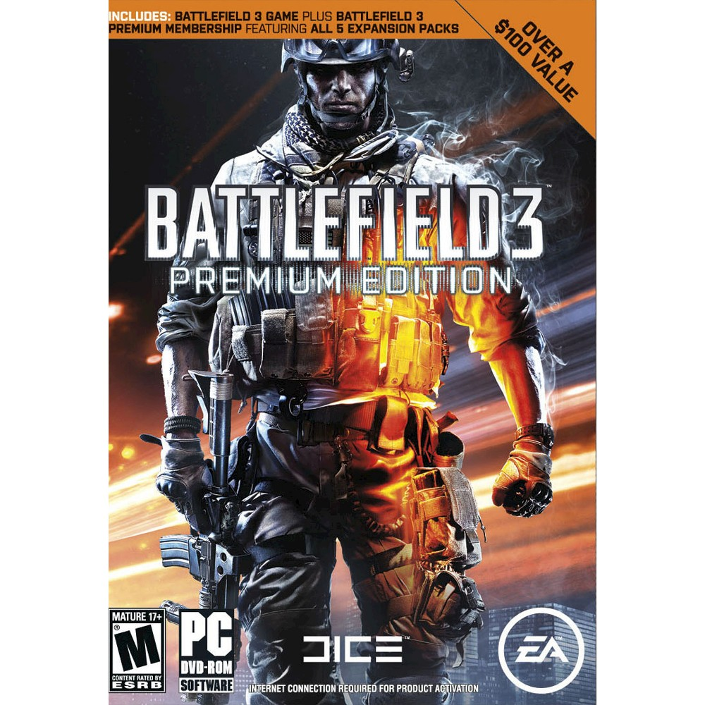 Battlefield 3 Premium Edition Electronic Software Download Pc