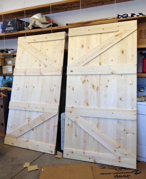 How To Make Barn Door Wood Working Pinterest Barn Doors Barn