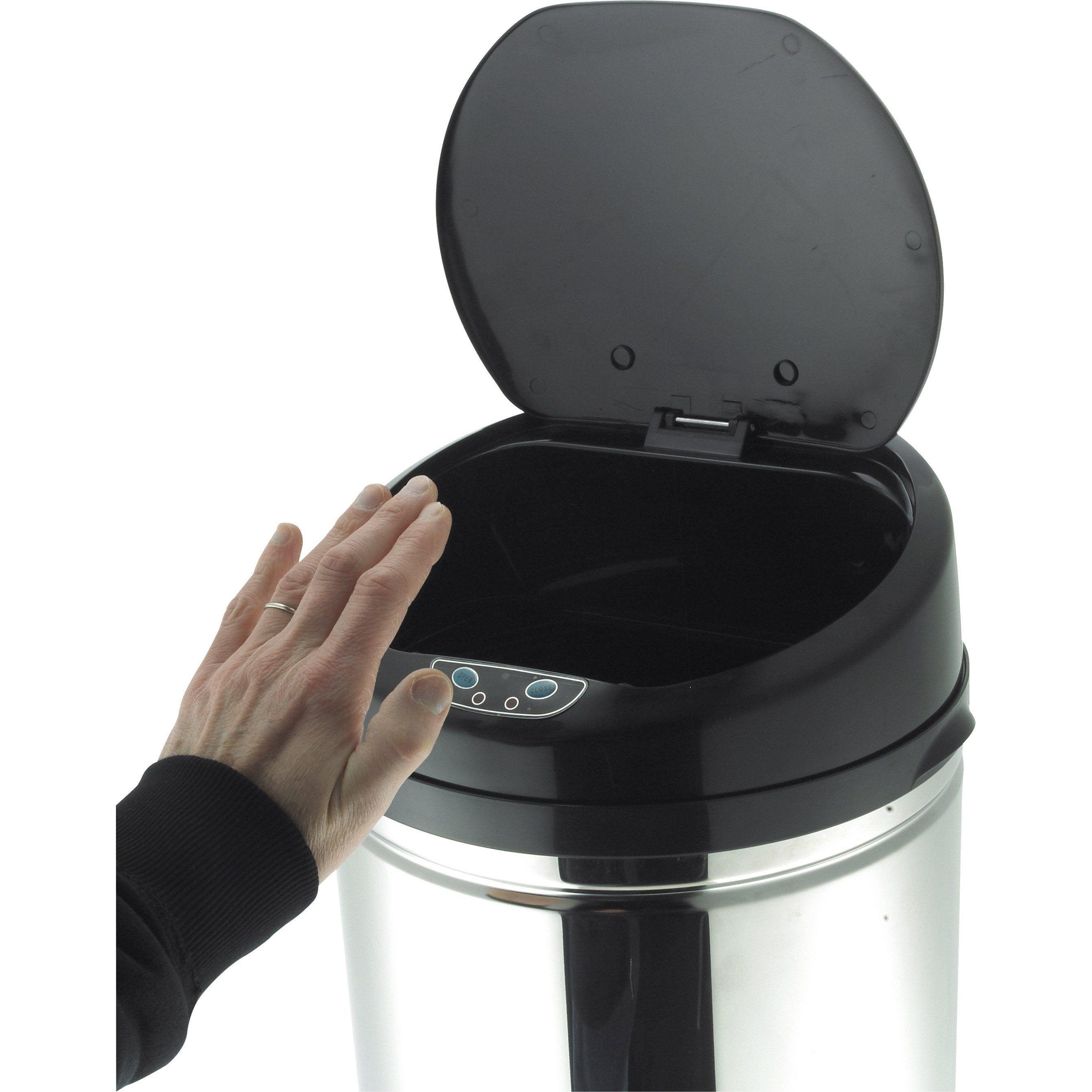 Poubelle De Cuisine Automatique Hailo Plastique Inox 50 L Poubelle Cuisine Poubelle Et Cuisine Leroy Merlin