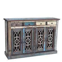 Roma's 4 Drawer 4 Door Cabinet