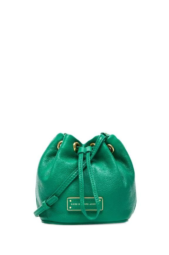 d4452fba91 Too Hot To Handle Green Mini Drawstring Bag Marc By Marc Jacobs from  Revolve Clothing #poachit