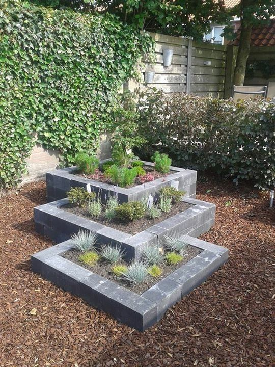 Pin By Tara Josiger On Ideas For The Garden Backyard Garden Design Backyard Landscaping Designs Diy Raised Garden