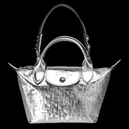Le Mini Pliage Cuir Mini top-handle bag LONGCHAMP - L1500HNT023 ...