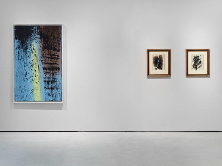 Hans Hartung Alternate Reality Exhibition At Setareh Gallery