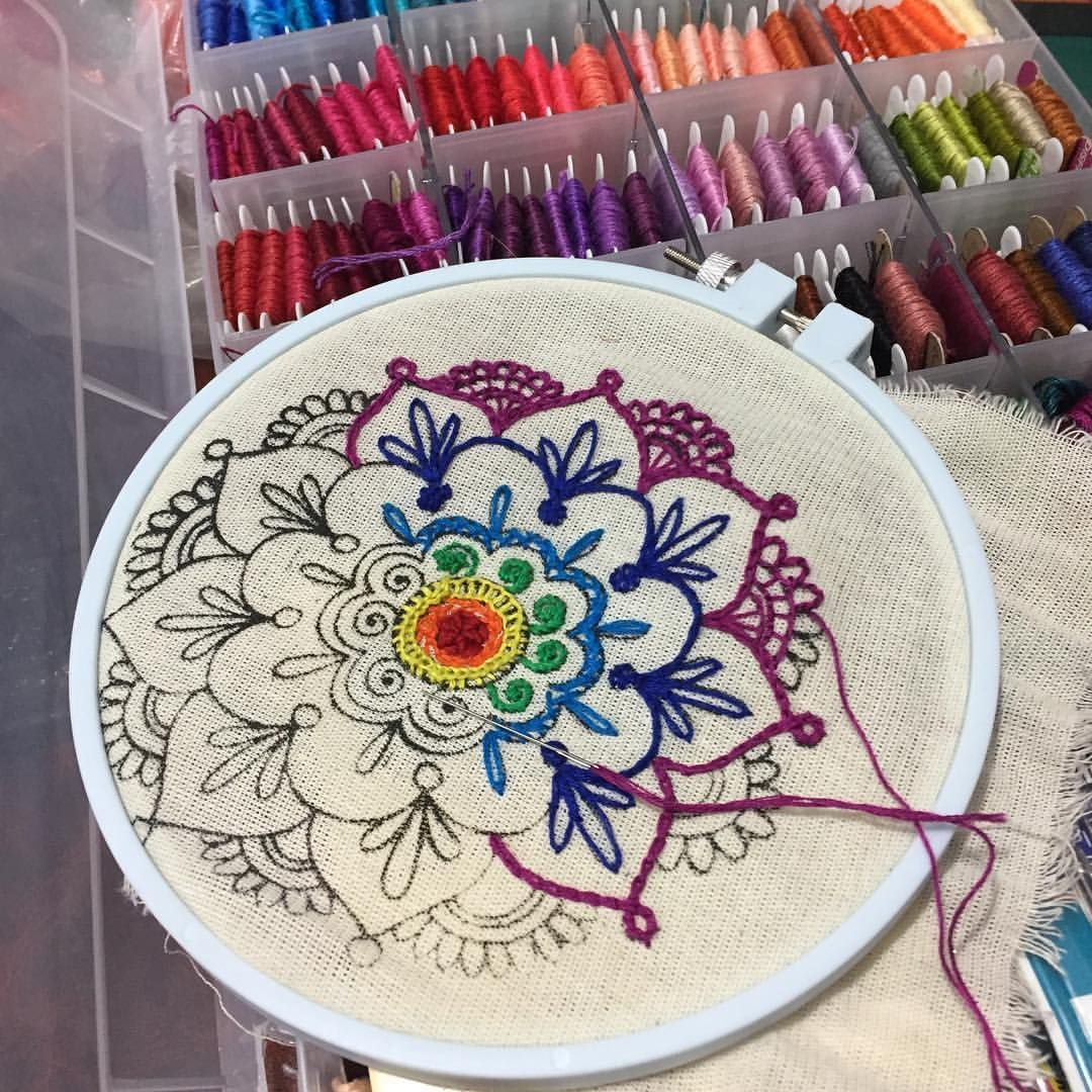 The Best Stitches In Embroidery