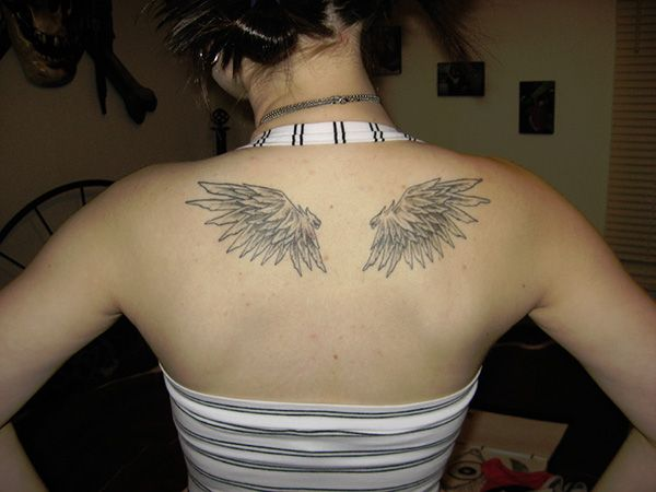 38 Decorative Wing Tattoo For 2013 Small Angel Wing Tattoo
