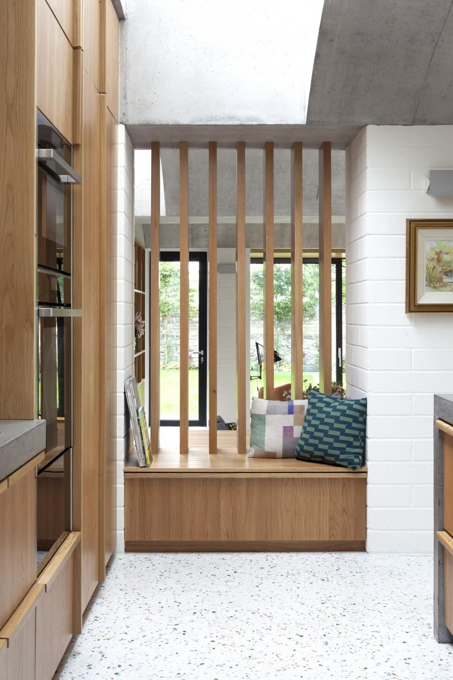 Sundymount village house in dublin by gkmp also gets brutalist makeover architects the rh pinterest
