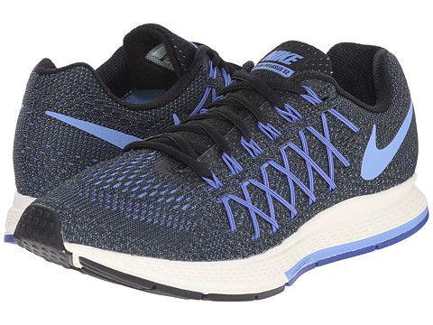 Damen Nike Air Zoom Pegasus 32 Blau Orange Mango Schwarz