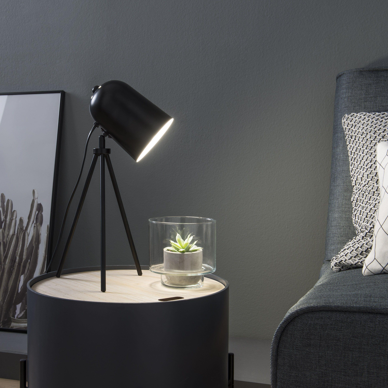 Lampe Design Metal Noir Inspire Ariane Metal Noir Metal Et