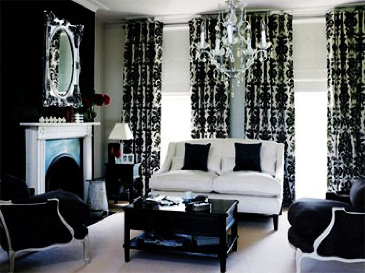 Diy Red Black And White Living Room Ideas Black And White Living Room Black And White Living Room Decor Black Living Room #red #black #white #living #room