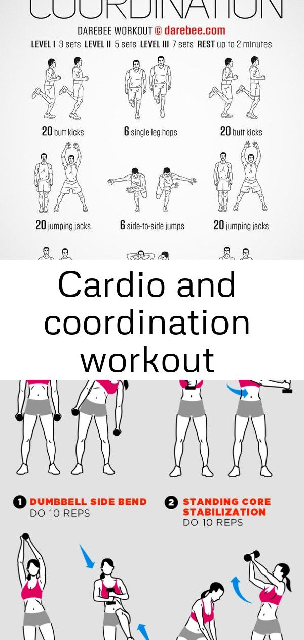 Cardio and coordination workout #sideabworkouts