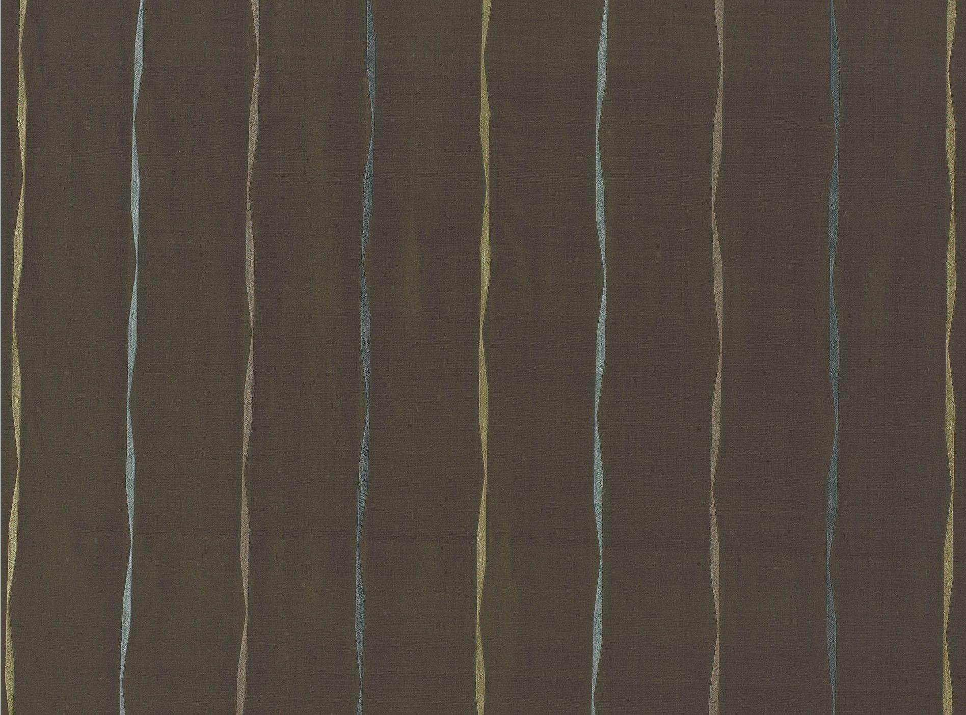 Maypole Fossil /Spearmint fabric by Villa Romo