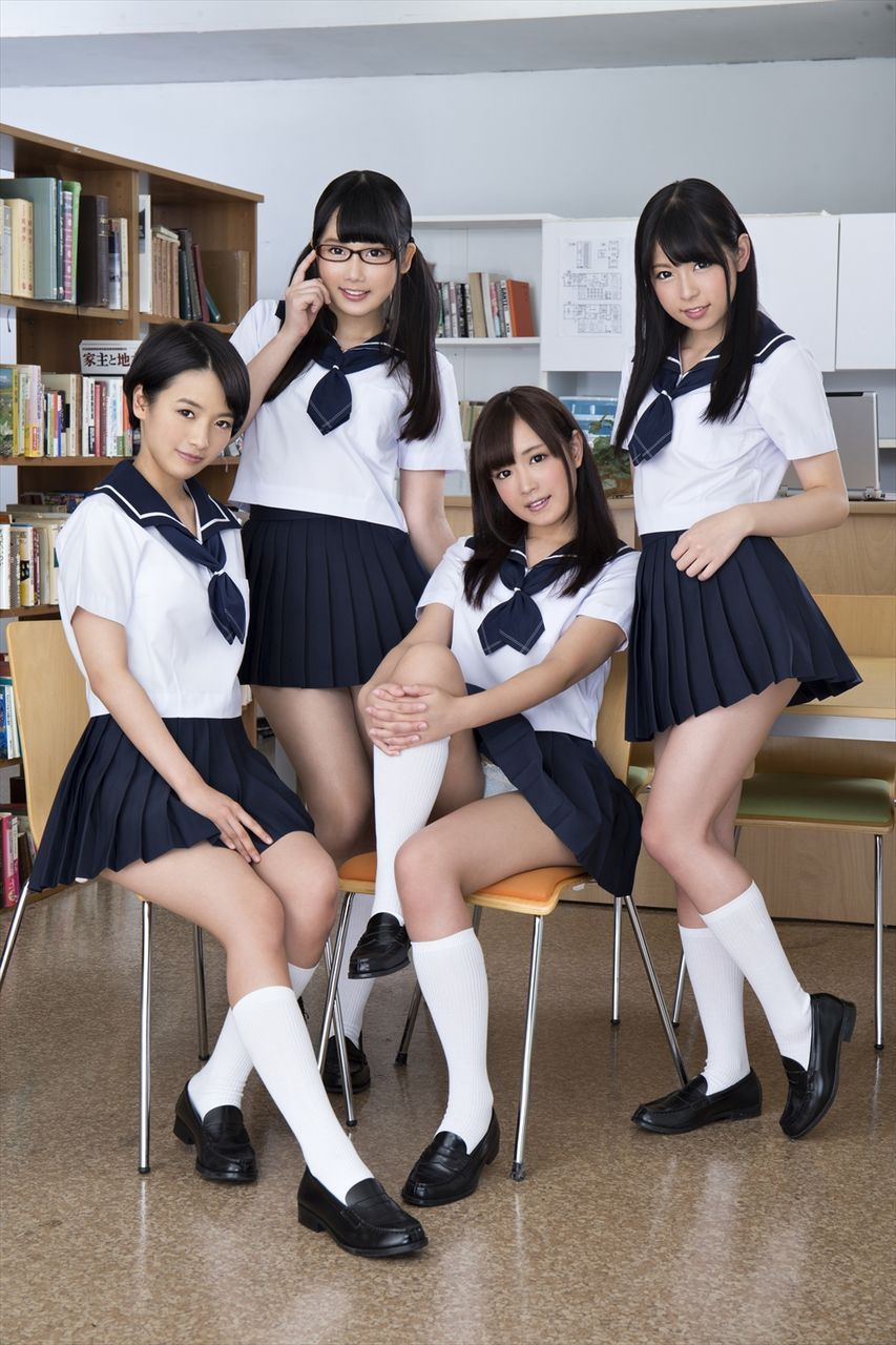 Japanese school uniform porn-2694