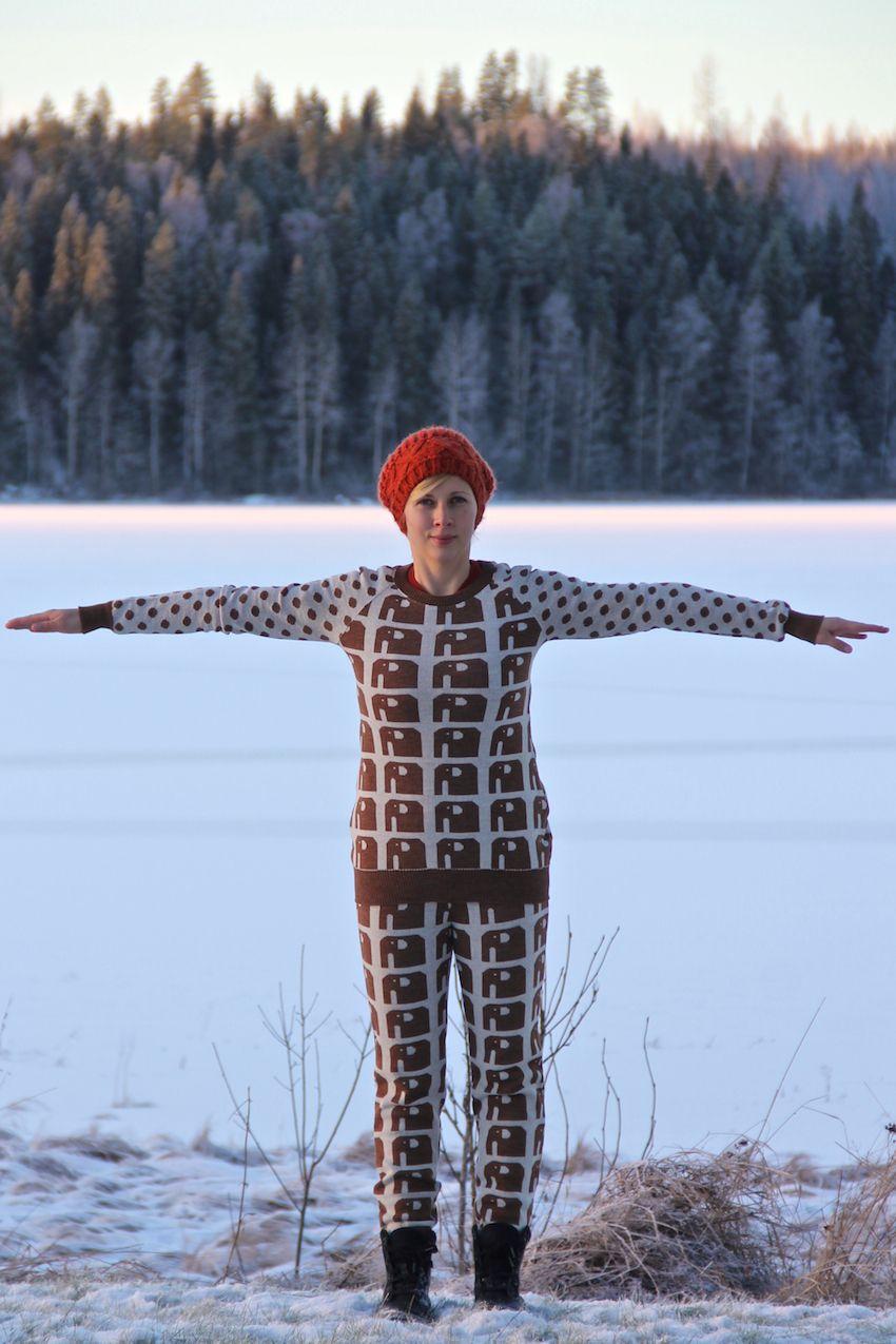 Finnish Design: Johanna K. Design aikuisten villavaatteet
