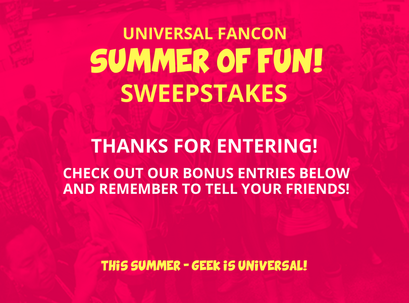 Sweepstakes to enter chance to win