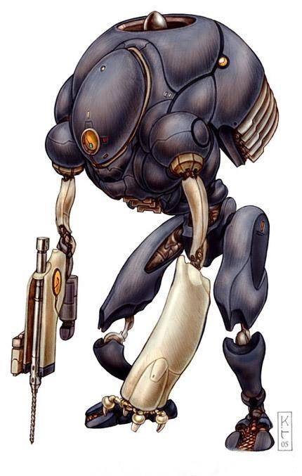 Dark Robot
