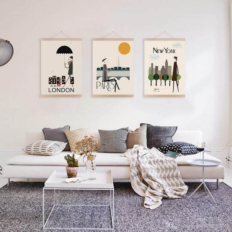 Chambre Style New York, Idées À Thème Londres Et Voyages