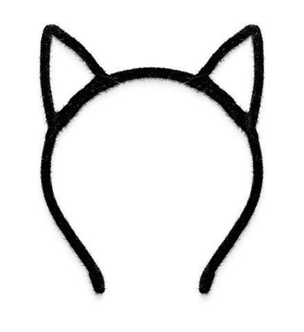Black Headband With Cat Ears NEW