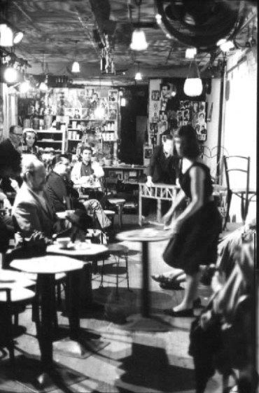 1964 Yvonne Rainer Moves The Tables And Chairs From Side To Side