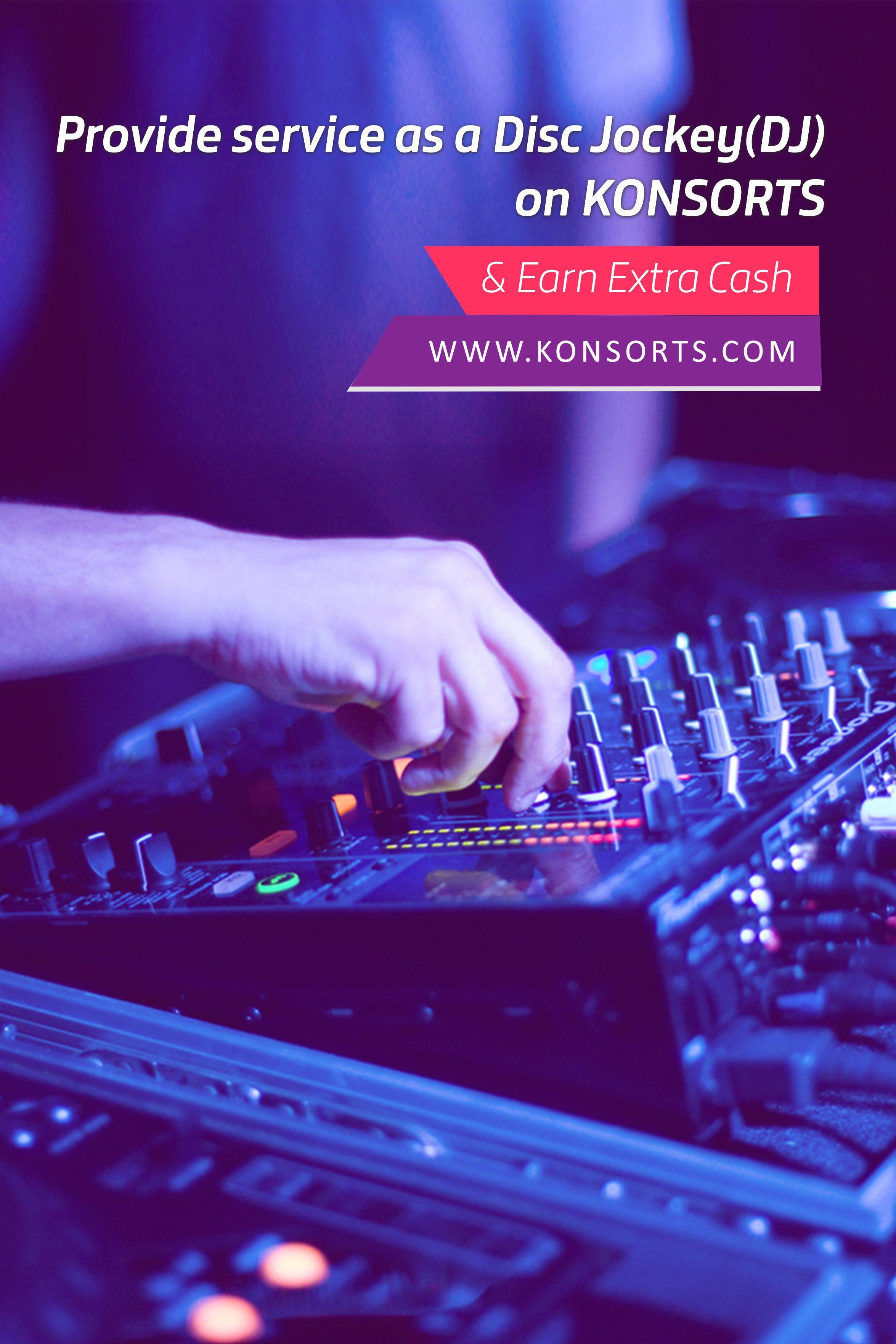 Disc Jockey (DJ) International Service Provider Community
