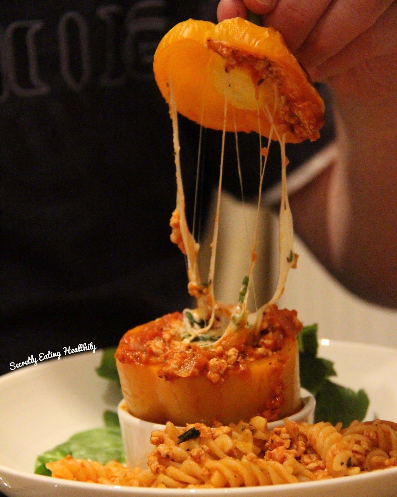 Italian Turkey Mince Stuffed Bell-Peppers | Turkey mince ...