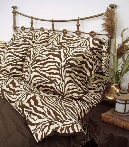 Scent Station Wild Life Ii Standard Pillow Cases Brown