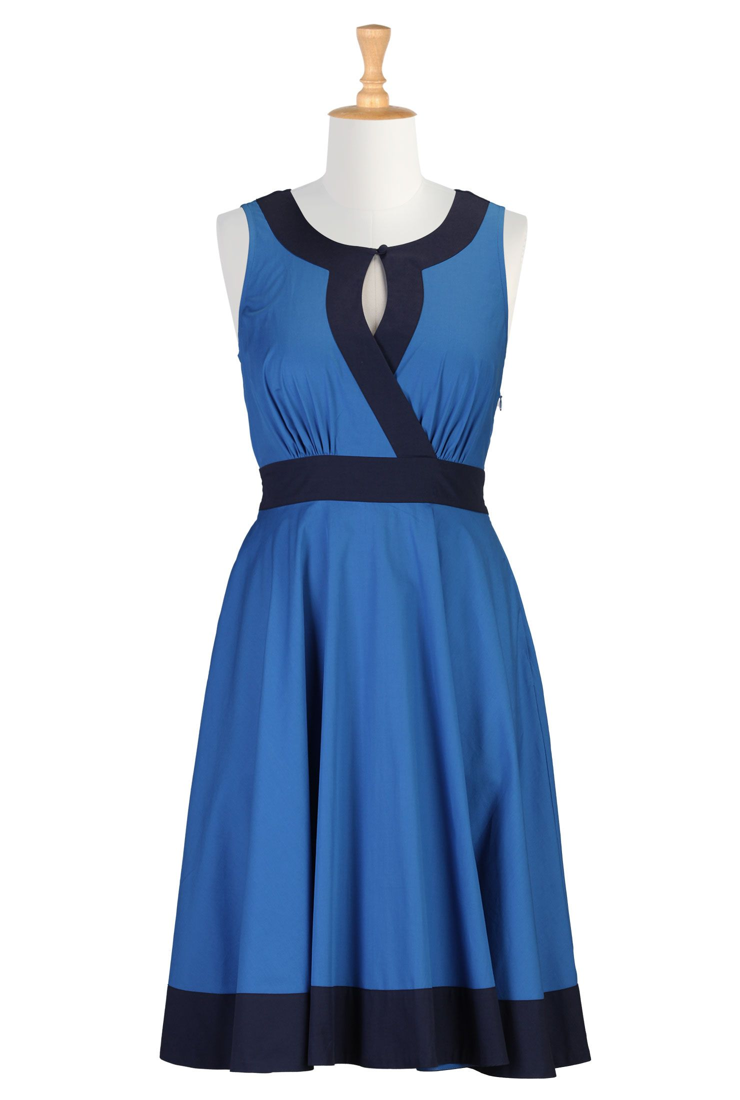 Blue Themed Casual Dresses : Casual Blue Dress  Clothing ...