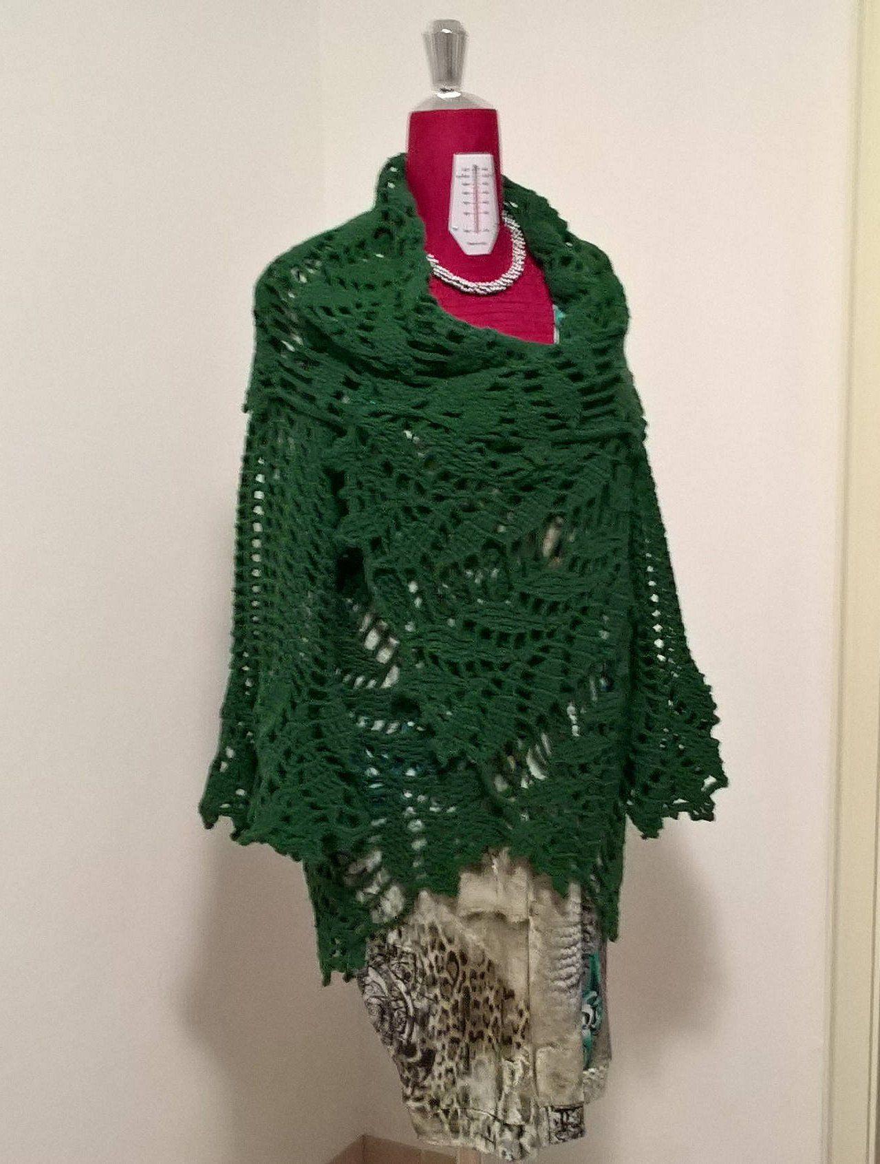 online in vendita tecnologia avanzata grande selezione Maglia con collo a scialle ,maglia di lana , fatto a mano ...