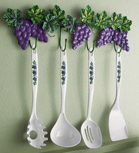 :D I Want This For My Future Grape Vine Kitchen Theme!