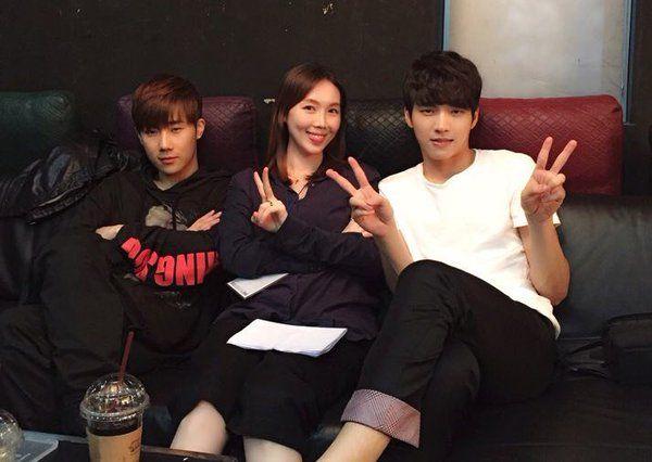 160509 @EyakiVoice twitter update #Woohyun #Sunggyu