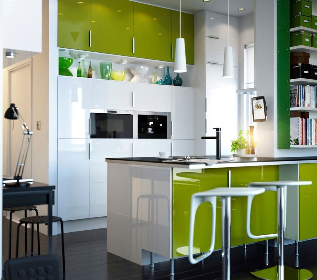 Lime green ikea kitchen design nyc hiplyfe home decorations