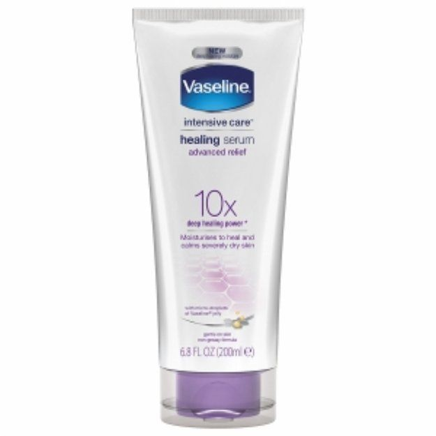 Vaseline Intensive Care Healing Serum Advanced Relief Reviews Q A Influenster Lotion For Dry Skin Dry Skin Makeup Serum For Dry Skin